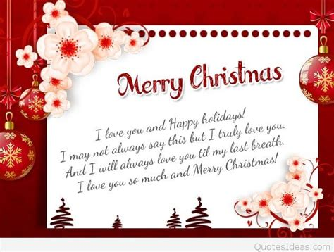 merry christmas special message   wife