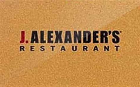 buy j alexander s discount gift cards giftcard net - J Alexander S Gift Card
