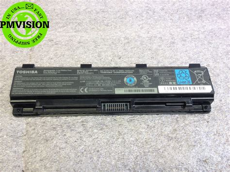 genuine toshiba satellite c55t laptop battery pa5109u 1brs 48wh 4200mah ebay