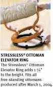 stressless ottoman elevator ring stressless voyager recliners chairs ekornes stressless
