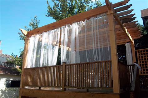 Curtains For Pergola Curtain Call The Guide To Pergola Curtains