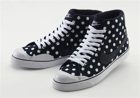 polka dot sneakers nike sportswear x experiment polka dot all court