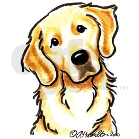 golden retriever drawing simple golden retriever portrait water bottle drawings and