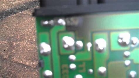 Relay Hazard W202 mercedes slk 230 k40 relay fix