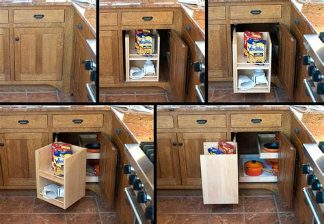 Blind Corner Kitchen Cabinet Solutions | mullet cabinet craftsman style kitchen