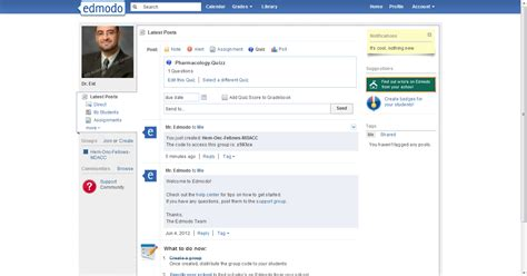 edmodo questionnaire eid master edu edmodo communication and collaboration tool