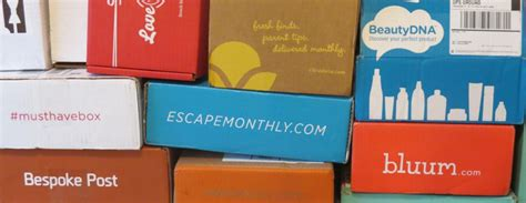 subscription box 17 subscription boxes for the whole family