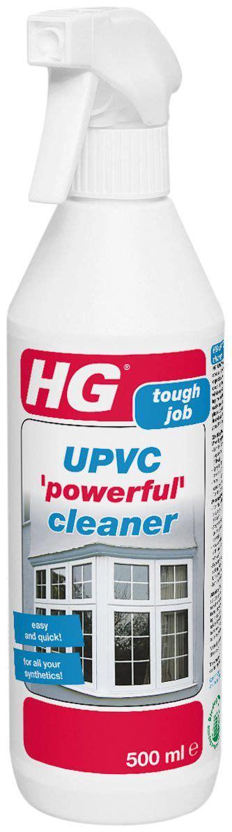 hg upvc cleaner spray  ml departments diy  bq