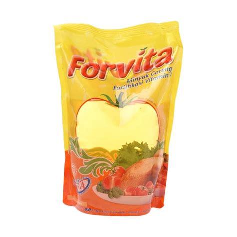 Minyak Goreng Kelapa Sawit jual groceries forvita refill minyak goreng 1 8 l