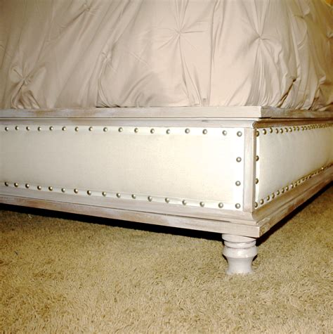wood upholstered bed ana white wood and upholstered bed king diy projects