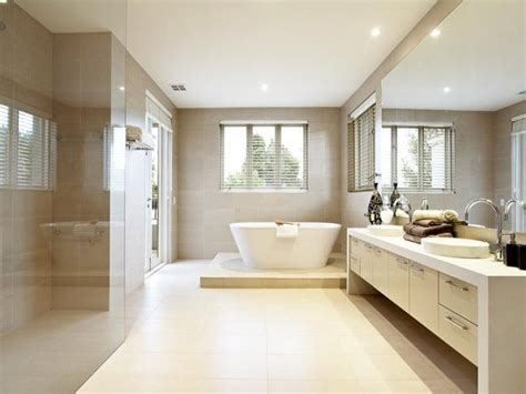 Modern Bathroom Design Layout Modern Bathroom Design With Bi Fold Windows Using