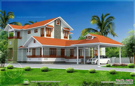 kerala model house design kerala model double storied house kerala home design and floor plans