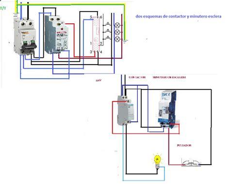 un contactor a botoneras esquemas el ctricos apexwallpaperscom esquemas el 233 ctricos dos minuteros escalera con contactor