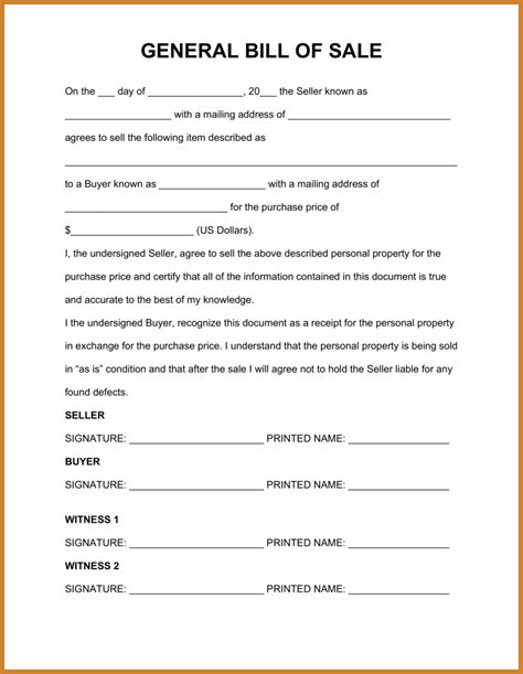bill of sale template pdf bill of sale template pdf notary letter