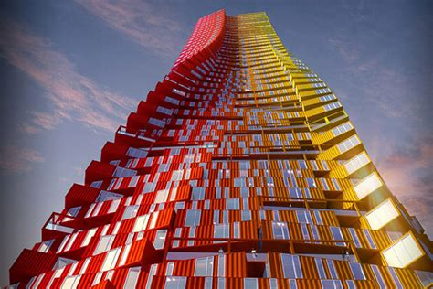housing solutions container skyscrapers offer innovative housing solutions 1 materia
