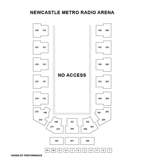 metro arena floor plan disney on ice presents 100 years of magic newcastle at