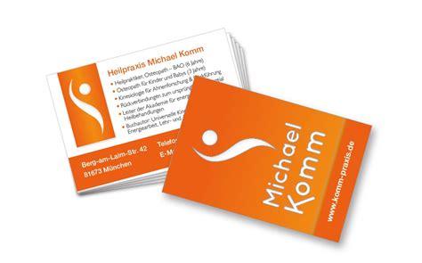 Visitenkarten Heilpraktiker by Referenzen Archive Seite 11 Von 15 Marketing 2