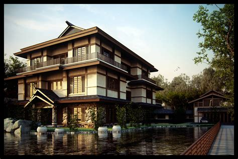 precieux art home design japan japanese house by neellss on deviantart