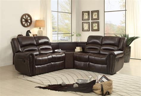 Small Reclining Sofas Small Reclining Sectional Sofas Lovable Small Sectional Sofa With Recliner Beds Design Thesofa