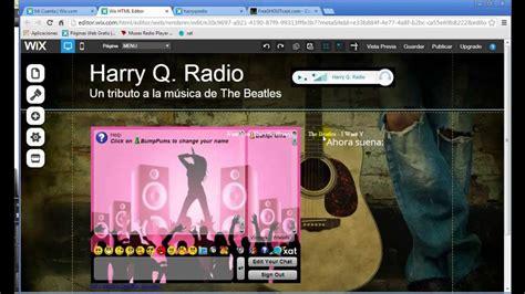 alojar imagenes en web p 225 gina web para tu emisora de radio con reproductor y chat