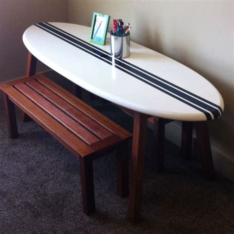 the 25 best ideas about surfboard table on