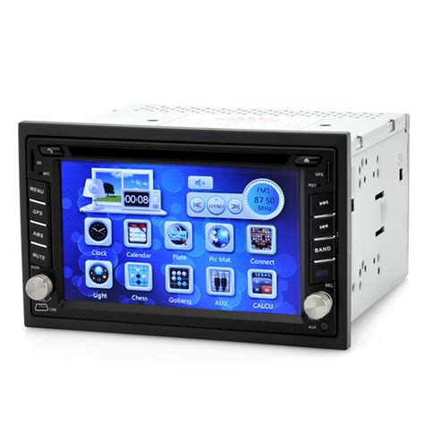 Din Car Multimedia Player Touch Screen 65 Inch Built In Bt gear 2 din car dvd player with 6 2 inch touch screen gps bluetooth 4gb micro sd card tabr