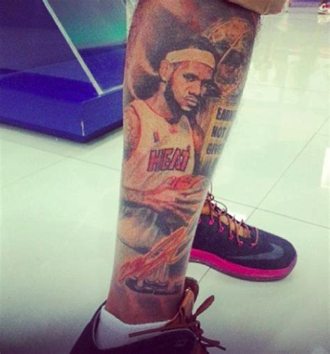 lebron tattoo buzzfeed on quot might want to get their