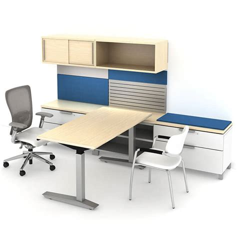 Haworth Desks by Compose Storage Haworth