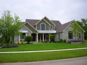 house exteriors shurlow custom home images