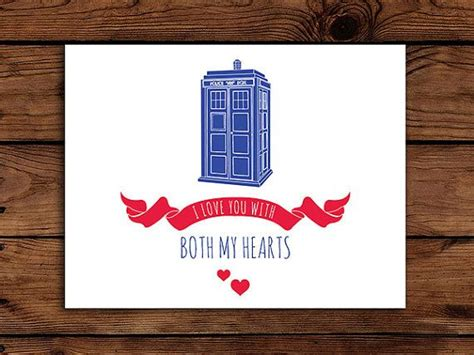 doctor who cards printable doctor who card i you with
