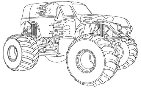monster jam logo coloring pages monster best free