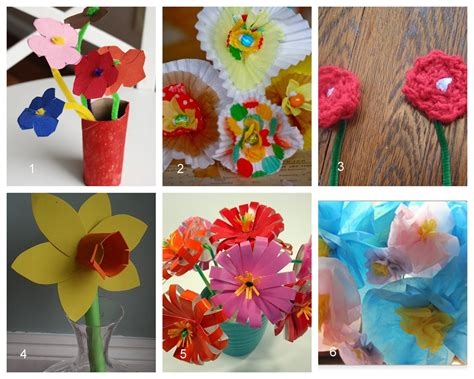 homemade flowers having fun at home ideas for homemade mother s day bouquets
