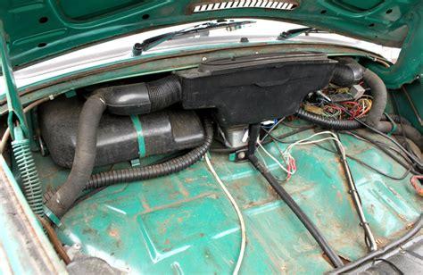 volkswagen beetle trunk in front front trunk parts