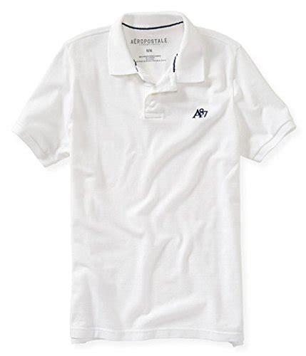 Aeropostale Shirts White mens white aeropostale polo aeropostale white mens polo