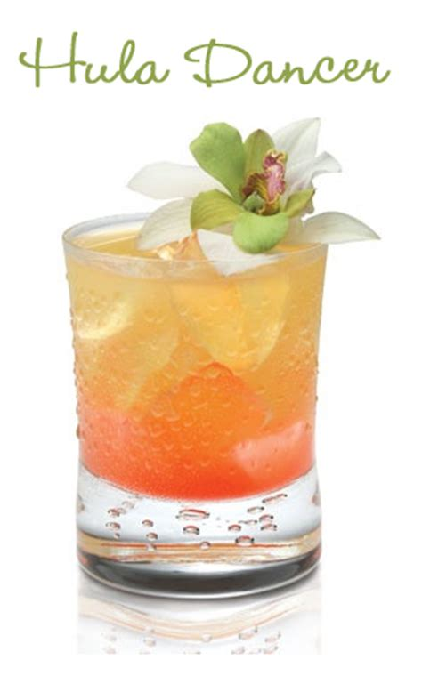 hula dancer summer cocktail recipe