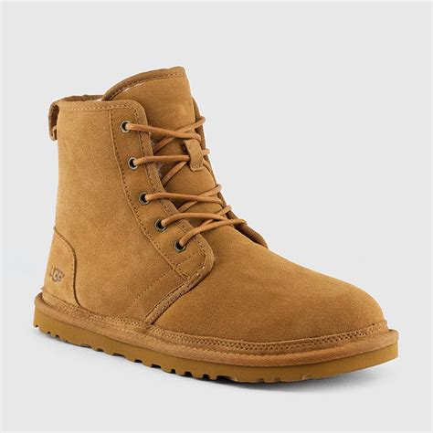 mens uggs shoes ugg s harkley boots chestnut