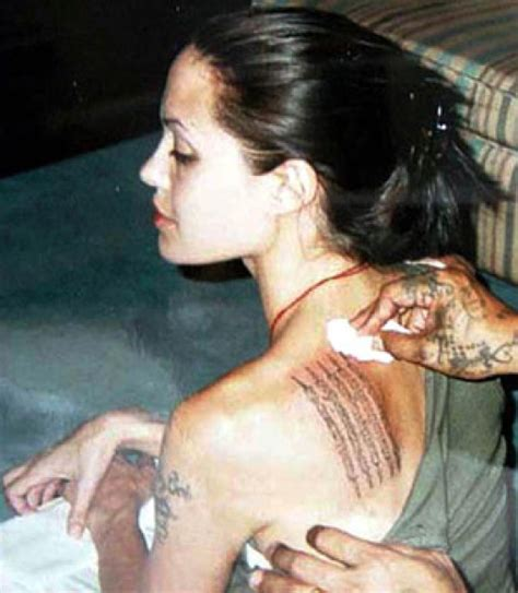 angelina jolie chest tattoo the cpuchipz tattoo ideas angelina jolie tattoos images