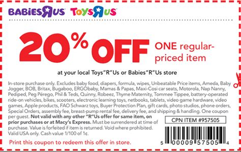 printable coupons nautica outlet babies r us coupons 20 off coupon specialist