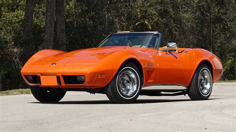 1975 L82 Corvette Convertible 4 Speed Matching Numbers 3rd Owner Ac No Reserve 1975 Chevrolet Corvette Convertible T85 Kissimmee 2018