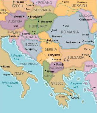 where is kosovo on a world map maps map of europe kosovo