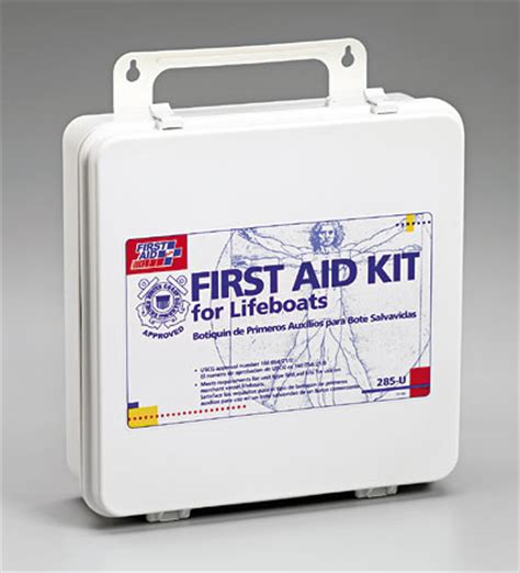 boat first aid kit first aid kits for boat liferaft us coast guard