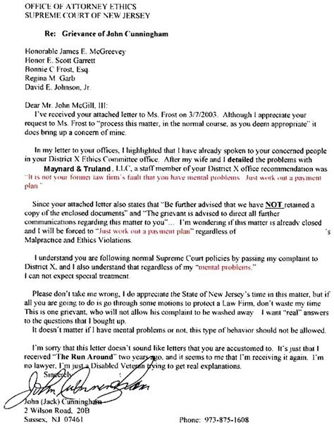 Letter Of Agreement Mcgill Mcgill Cover Letter You Be The Judge Is This A Supreme Court Cover Up