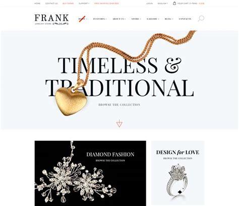 wordpress themes jewelry store 11 best wordpress jewelry themes 2018 siteturner