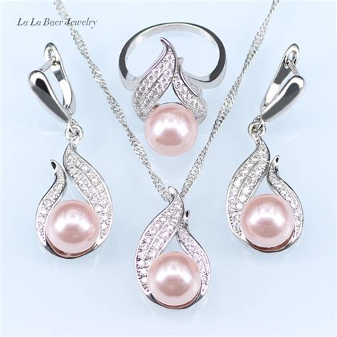 R51253 Fashion Silver Color Pearl l b vintage silver color jewelry fashion hollow out water drop with pink imitation pearl jewelry