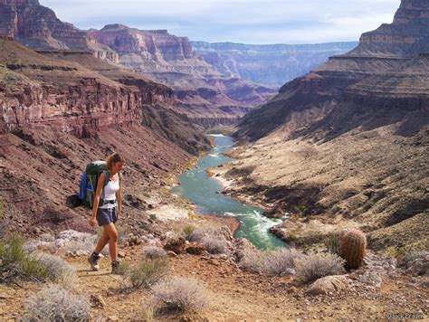 grand canyon hiking river trail loop