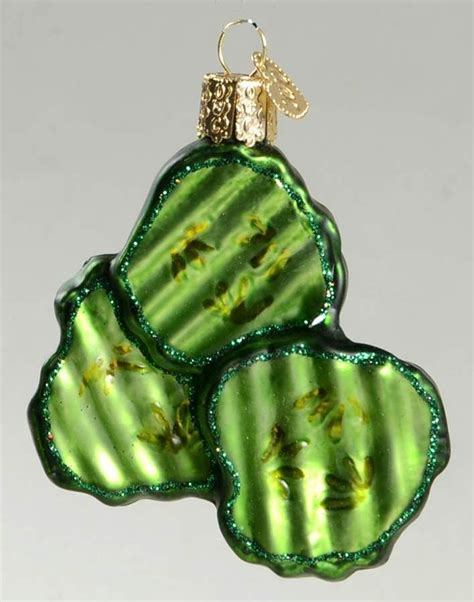 ornament pickle 100 images glitter green pickle