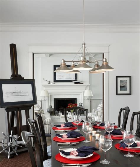 nautical dining room nautical navy traditional dining room other metro