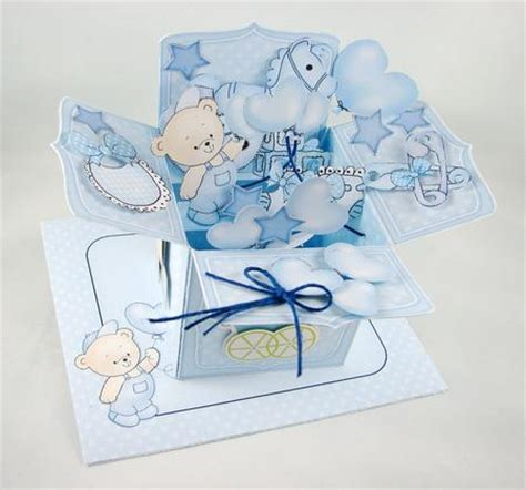 50th birthday pop up card template 3d new baby boy rubber band pop up box card cup527258