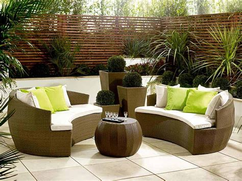 garden recliners 20 fabulous rattan outdoor furniture to be explored