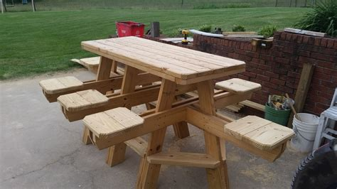 how to a bar table how to build the 8 seat bar stool picnic table chapter 1